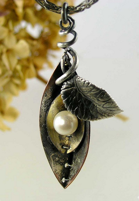 Pod Necklace by Nancy L T Hamilton, via Flickr