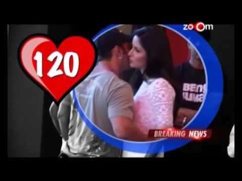 Salman Khan & Katrina Kaif's First time kiss in Tiger Zinda Hai Leaked shooting by Fans  Duration: 2:52.