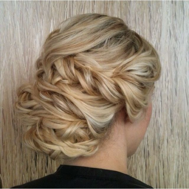 Bridal up do.