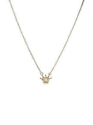55% OFF Frida Girl Golden Crown Necklace