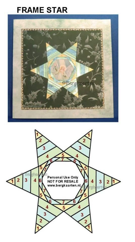 Irisvouwen: Frame Star