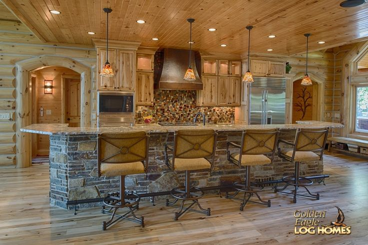 Log Home Dining Room Tables