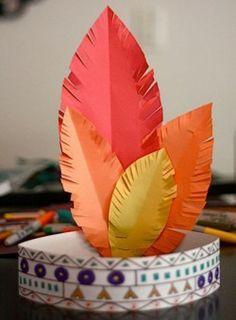 Come realizzare un copricapo da indiano insieme ai bambini