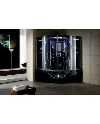 NEW 2015 Modern Steam Shower Massage Bathtub Jetted Whirlpool Hot Tub Sauna SPA
