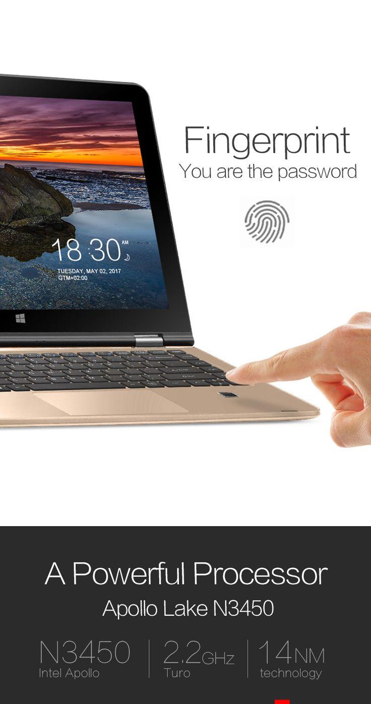 VOYO V3 Pro Apollo Lake N3450 Quad Core 1.1 GHz 8G RAM 128G SSD Win 10 Home OS 13.3 Inch Tablet