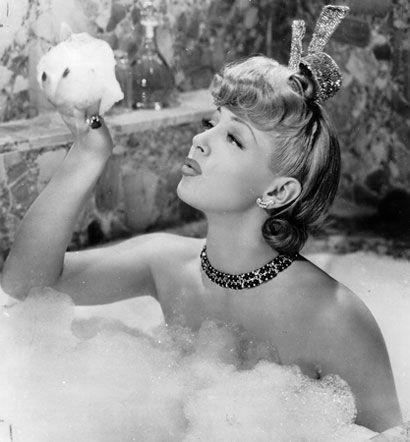 Lana Turner Legs   vintage bubble bath glam woman