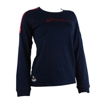 Official AFL long sleeve womens tee, very practical design for the warmer days/nights at the football, or just as great supporter wear.