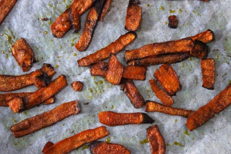 Paleo recepten | Wortelchips