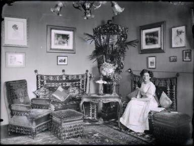 Vienna Living Room, 1910 | Vienna Fin-de-Siècle | Pinterest