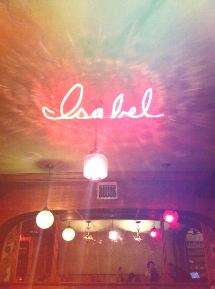 Bar Isabel - rated best new restaurant in Toronto 2014 by BlogTO