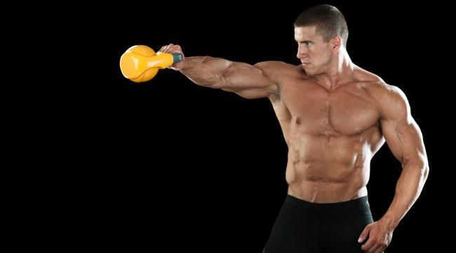 Don't just get big, build size, strength and athletic power with Russia's greatest export: The Kettlebell.
