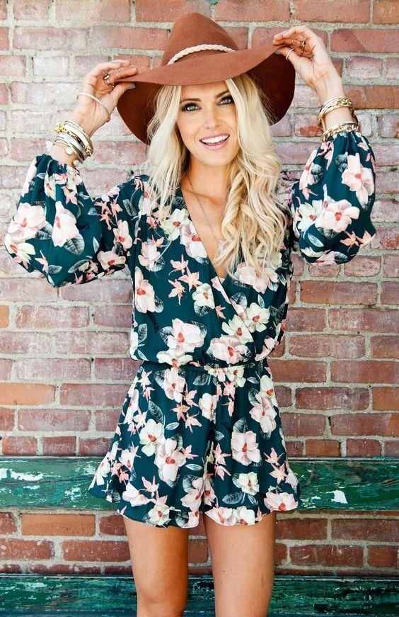 20+  Cute Summer Outfits with Hats | ko-te.com by @evatornado |