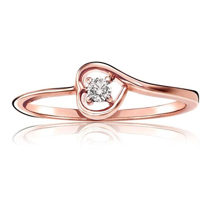 diamond heart promise rings - photo #39