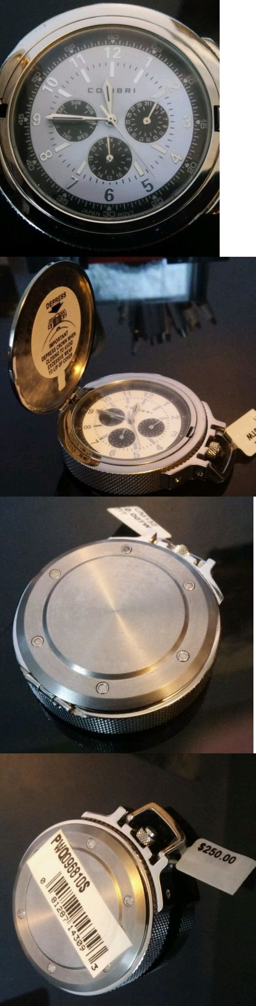 Other Pocket Watches 398: New Colibri Pocket Watch With Day Date And 24 Hour Subdials -> BUY IT NOW ONLY: $125 on eBay!