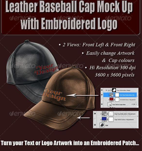9451+ Baseball Hat Mockup Template Packaging Mockups PSD