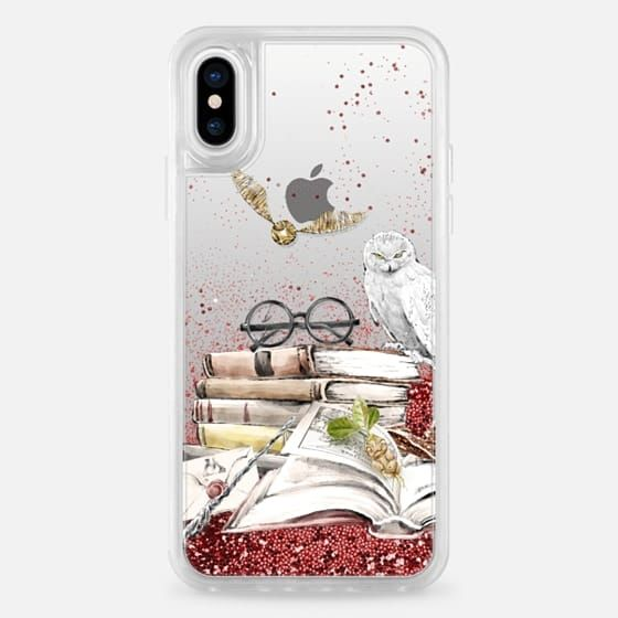 d22b14a1d74 Casetify iPhone X Liquid Glitter Case - Harry Potter | Stuff and ...