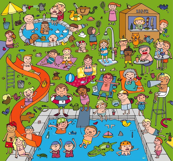 Anja Boretzki: Swimming Bath Puzzle