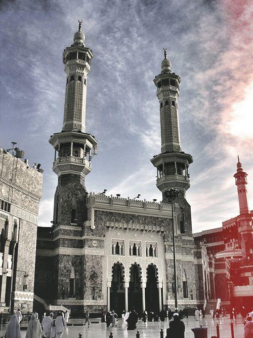 al-Masjid al-Haram Entrance (Makkah, Saudi Arabia)Originally found on: ae5alid