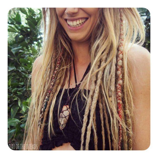 106 Elegant dreadlock hairstyles for the ladies