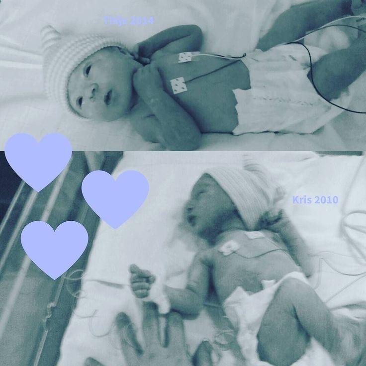 Mijn eigen kleine liefdes Kris werd in 2010 met een dysmatuur gewicht geboren na 42 weken zwangerschap. Thijs kwam in 2014 na 35 weken zwangerschap. #wereldprematurendag #prematuur #premature #dysmature #kleineliefdes