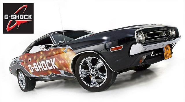 G-Shock Dodge Challenger