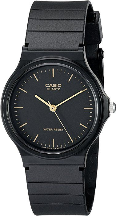Amazon.com: Casio Men's <b>MQ24</b>-1E Black Resin <b>Watch</b>: <b>Casio</b> ...