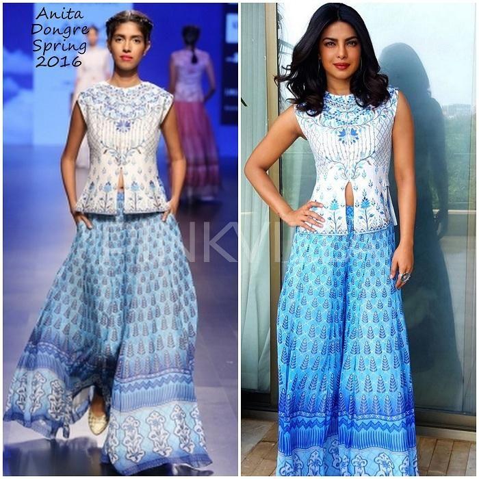 Celebrity Style,Priyanka Chopra,anita dongre,ami patel,Gangajal-2