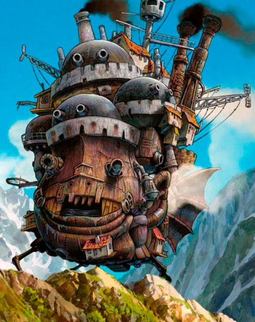 Howl's Moving Castle - love this movie so very much!