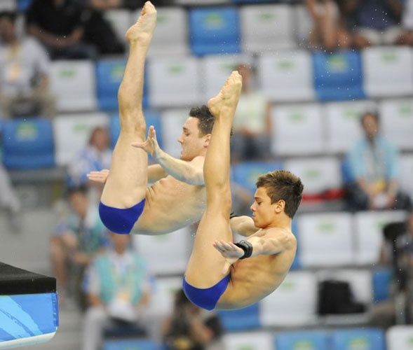 Blake Aldridge and Tom Dailey diving their way to eighth - Beijing Olympics 2008