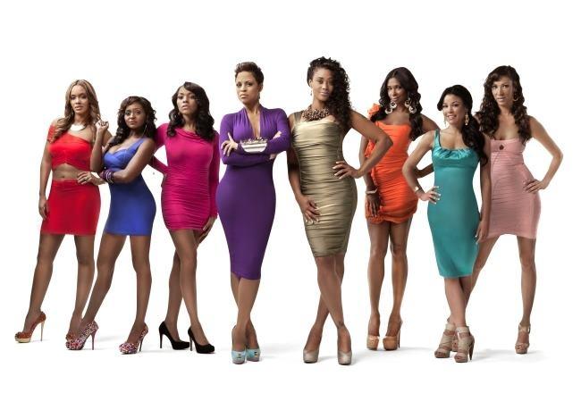 Evelyn Lozada,  Royce Reed,  Tami Roman,  Shaunie O'Neal,   Kenya Bell,  Jennifer Williams,  Kesha Nichols,  Suzie Ketcham  (The Basketball Wives)