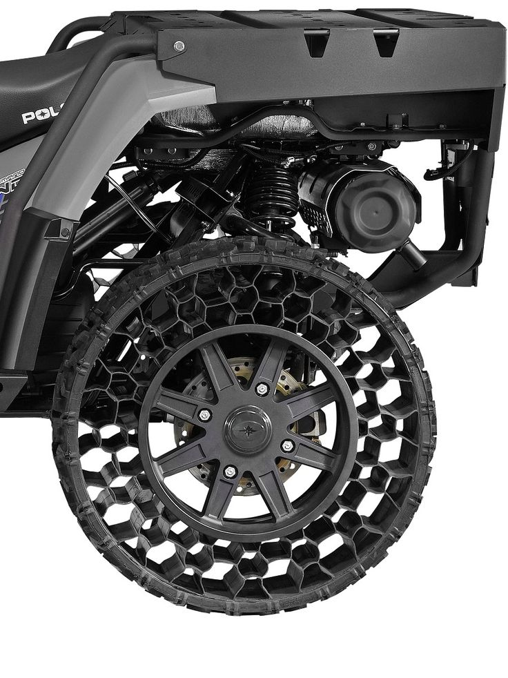 Non-Pneumatic Tires Finally Hit the Commercial Sector. Will Polaris Roll Over the Competition? - Core77