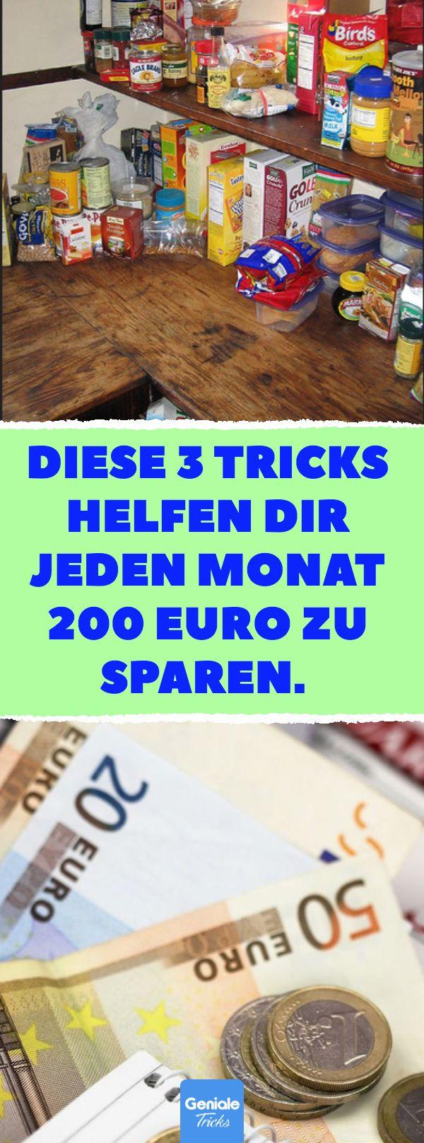 Diese 3 Tricks helfen dir jeden Monat 200 Euro zu …