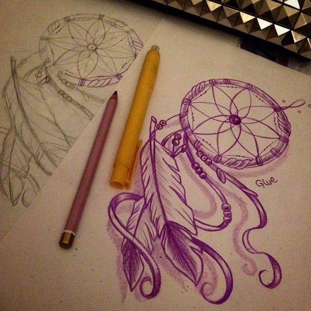 #tattoo #flash #dream #dreamcatcher #tattoos #apprentice #Tattoomodel #tattooapprentice #sketch #sketching #cutetattoo #cute #nice #love #pretty