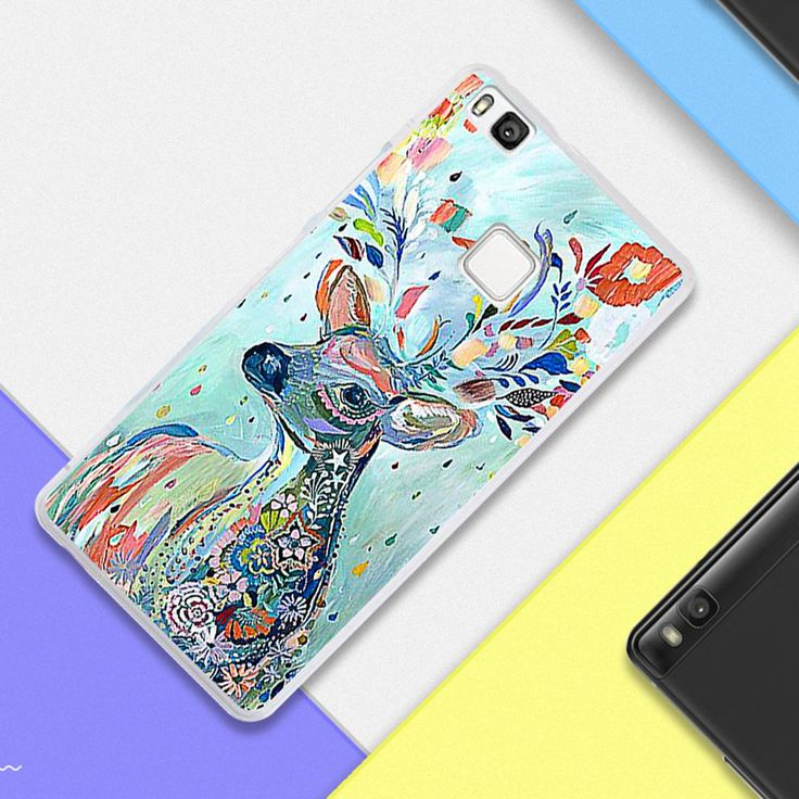 "P9 For Fundas Huawei P9 lite transparent Silicone TPU Cover Mandala cat lion Elk DIY telephone Case For Huaweip9 P 9 mini 5.2""-in Phone Bags & Cases from Phones & Telecommunications on Aliexpress.com 