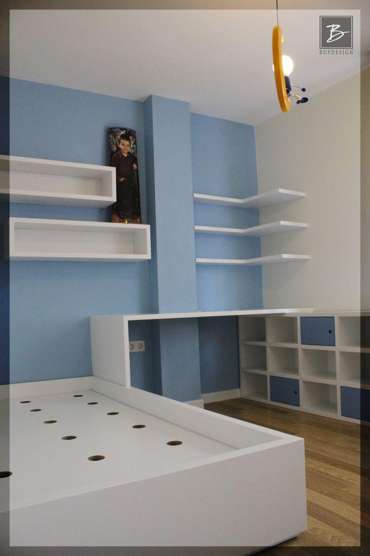 Buf Design - Bostancı Daire Tadilatı - Çocuk Odası - www.bufdesign.com