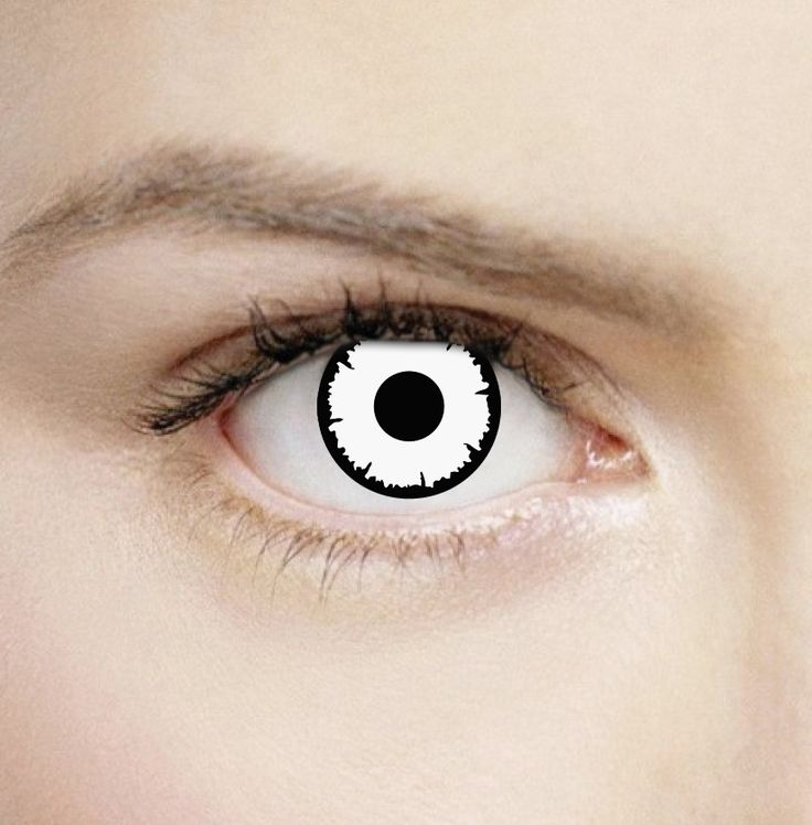 25+ Best Ideas About White Contact Lenses On Pinterest