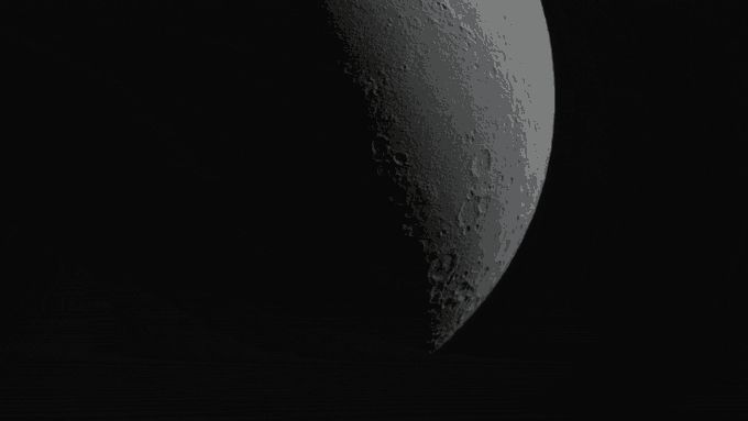 The first topographically accurate lunar globe, displaying the current lunar phases at any given time.