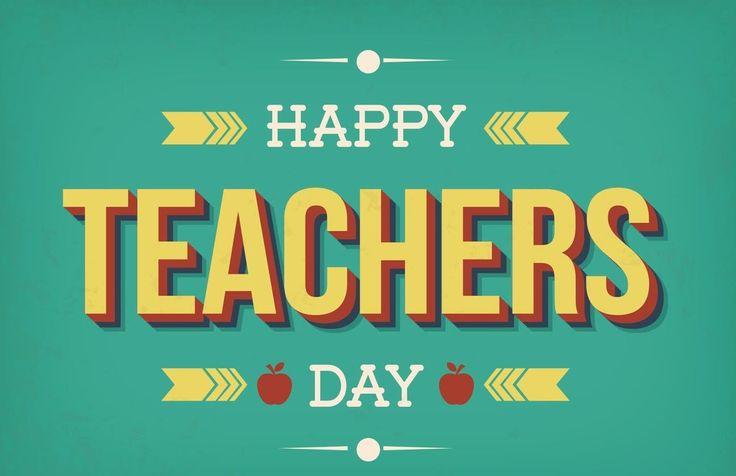 Happy Teachers Day! 2016 #teachersday
