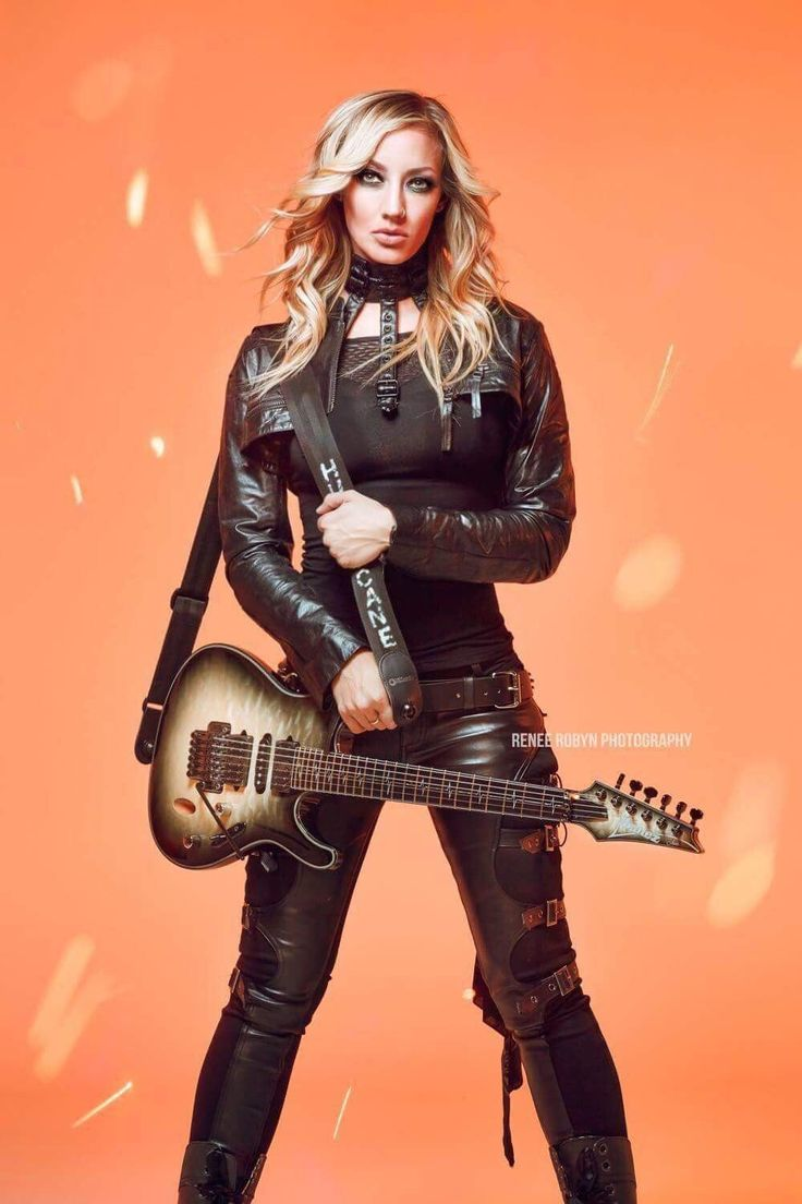nita strauss women of rock blues metal and country the guitar players nita strauss. Black Bedroom Furniture Sets. Home Design Ideas