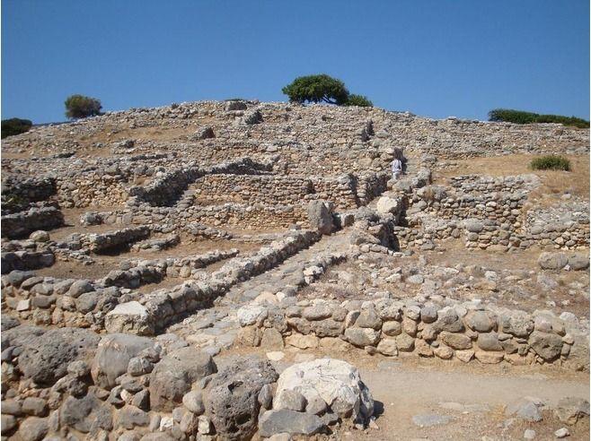 Excavation Site Minoan Gournia