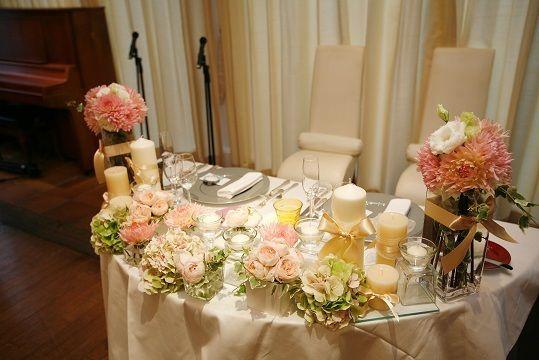 Wedding Report ♡ 会場装花とロゼット|ゆうコーンのゆるりんblog |Ameba (アメーバ)