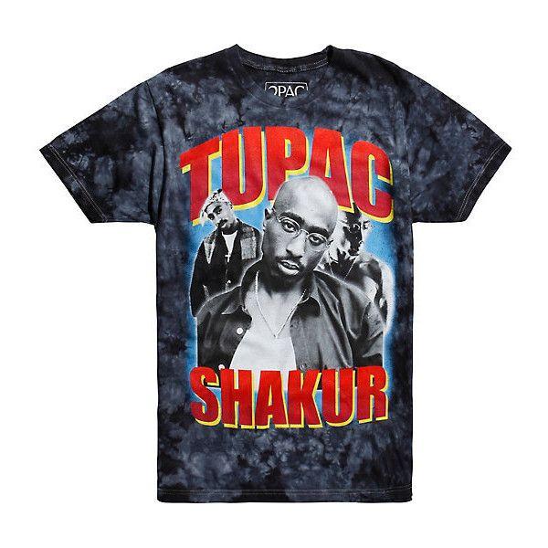 Tupac Shakur Tie Dye T-Shirt ($20) ❤ liked on Polyvore featuring tops, t-shirts, tye dye tops, tie dye tee, tie dyed t shirts, tye dye t shirts and tye die t shirts