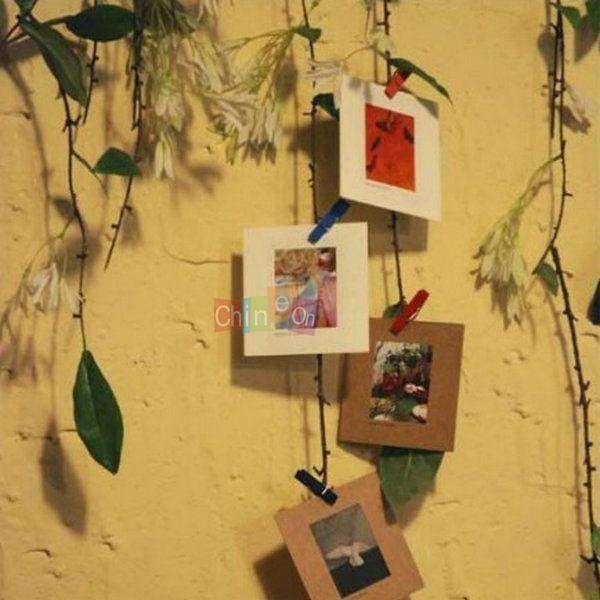 Бесплатная доставка E-Кро-дружески старинных фото рамка DIY свадьбы фоторамка стены фоторамка стены