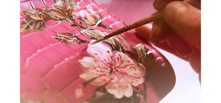 Les étapes de réalisation du sac « Croco bag » de Dolce & Gabbana