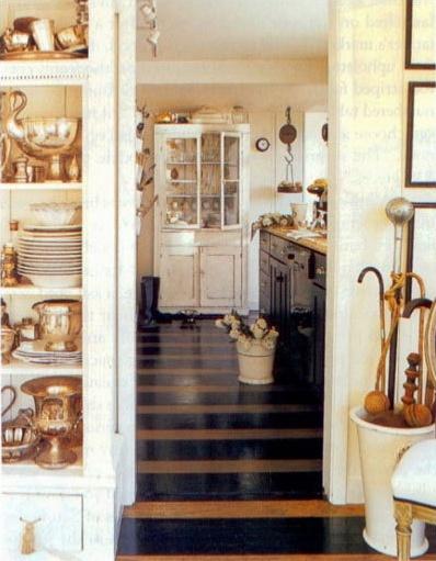 those floors...: Kitchens, Interior, Idea, Stephen Shubel, Cottage, Design, Painted Floors, Room