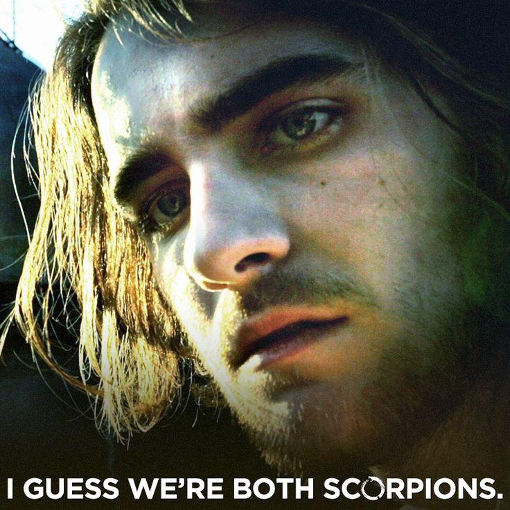 I guess we're both scorpions. // Hemlock Grove // Peter