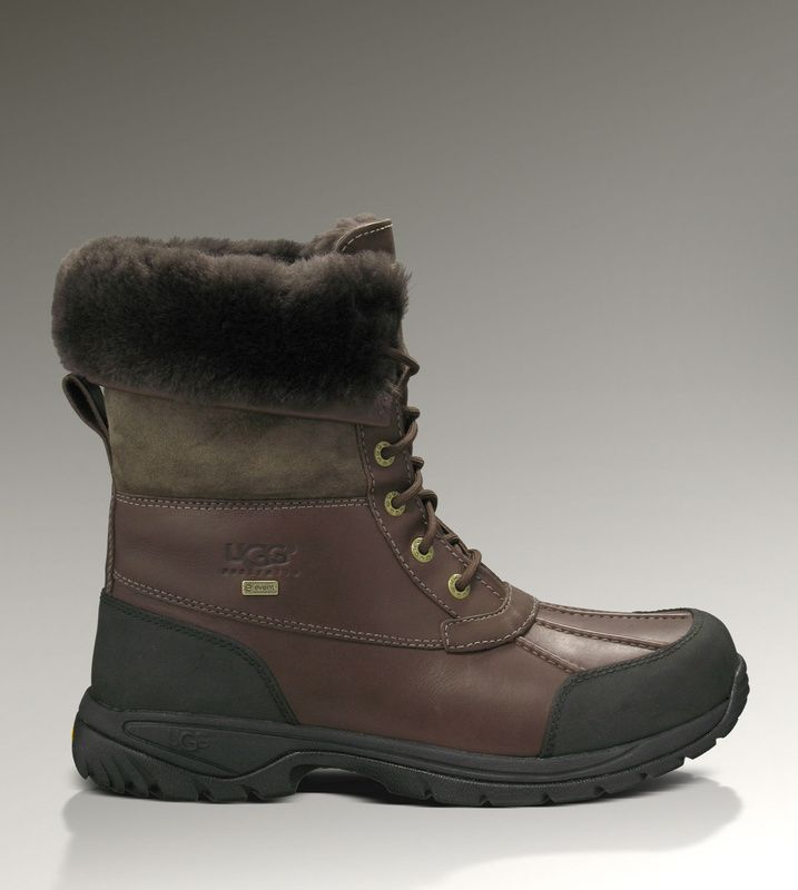 Mens UGG Butte 5521 Boots Chocolate