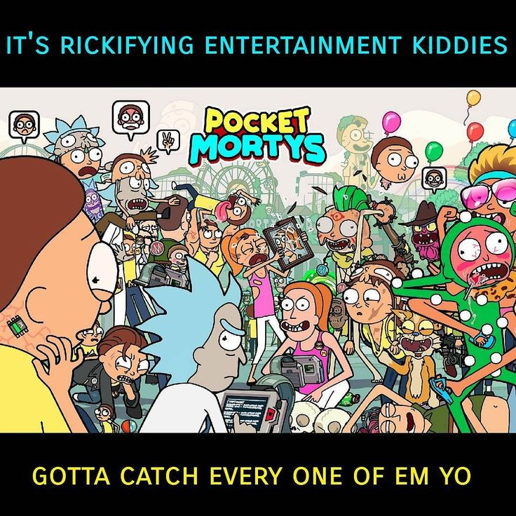 This is for real the only mobile game that has ever kept my attention and been worth playing all the way  As a hardcore gamer I can't stand any of the crap on Android and iOS that has all been nothing but a mockery of the fine legacy of video games. This mobile game has been an exception to the rule! If you love Rick and Morty the Pokemon Game Boy games or even mobile games in general give this one a try!  Oh and they have a comic series based on the concept too!   #friends #critkpod