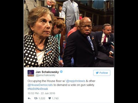 Breaking: House Democrats Occupy the Floor for Gun Control House Democrats staged their own protest for gun control, but you couldn't watch it on CSPAN. Rep....