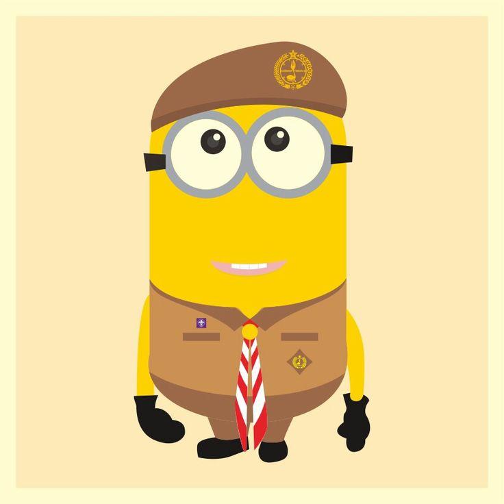 Minion Scouts Indonesia #pramuka